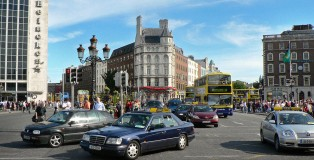 Dublin Traffic 1 (westmoreland street)