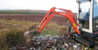 The clean up operation at Trusk Lough (2)