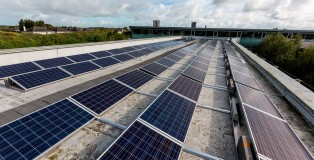 Solar panels on the Tipperary County Council offices