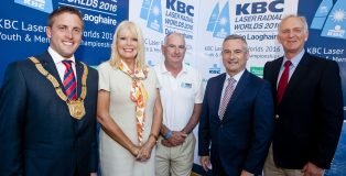 Bord Failte KBC Laser Radials Worlds for Youth and Men opening Ceremony. Iain White/Fennell Photography Fennell Photography 2016
