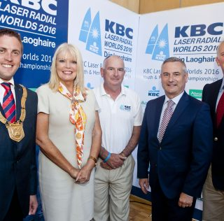 International sailors cruise to Dún Laoghaire for Laser Radial World Championships