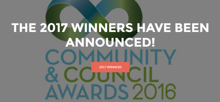 National Community and Council Awards 2017 winners anounnced