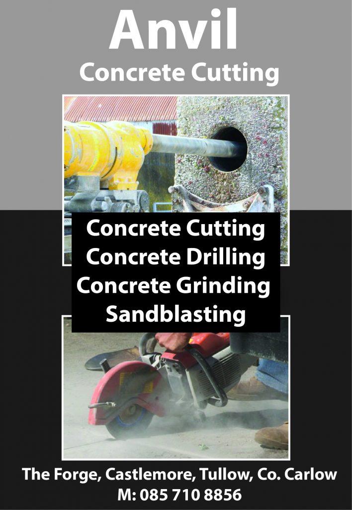 Anvil Concrete Cuitting