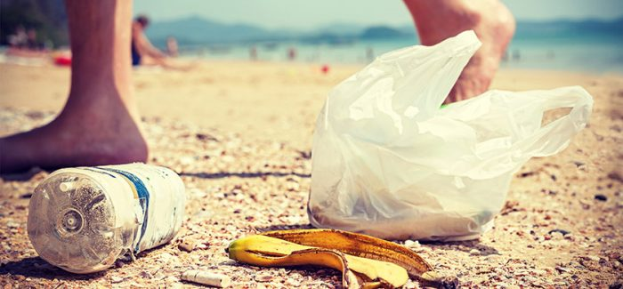 Five pieces of litter for every step on Northern Ireland beaches