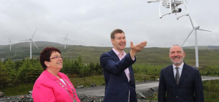 Ireland's largest wind farm opens in Donegal