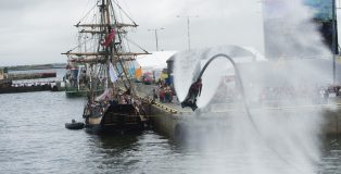 01/072017 REPRO FREE:    Seafest 2017, the National Maritime Festival which runs from Friday 30June to Sunday 2July in Galway. . Photo:Andrew Downes, xposure .