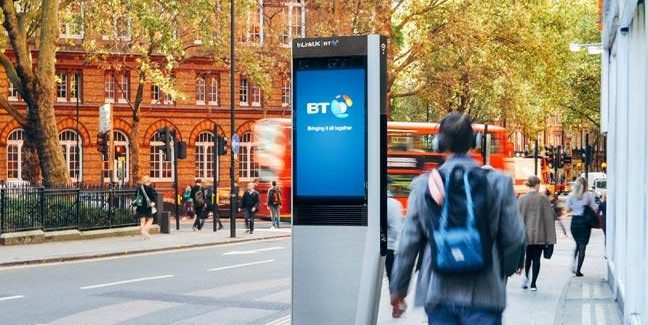 BT rolling out innovative replacement of street payphones in the UK