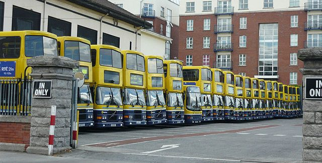 Dublin Bus will cease to operate from 10am due to Ophelia