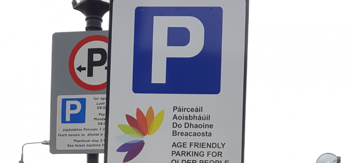 Cork introducing new 'age friendly' parking spaces