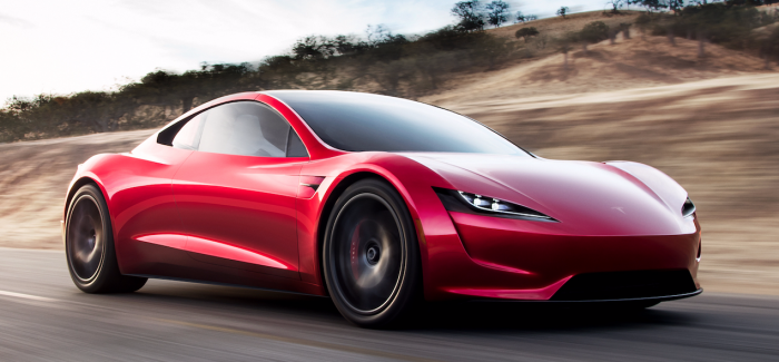 """Elon Musk Reveals Tesla's New Roadster """"The Fastest Production Car Ever Made, Period."""""""