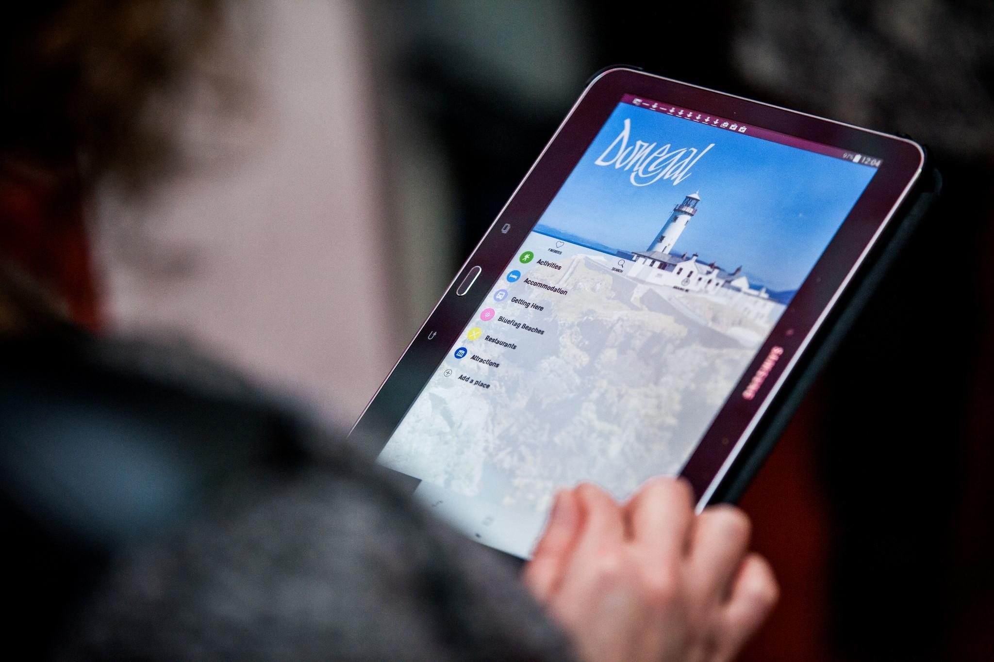 Donegal Tourism Brochure App launch 3